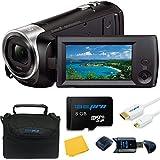 Sony HDR-CX405 HD Handycam - Deal-Expo Bundle
