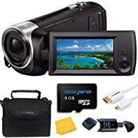 Sony HDR-CX405 HD Handycam - Deal-Expo Bundle