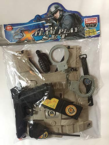 Police Play Kit; (7 pc) -