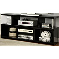 Furniture of America Rossino Modern TV Console, 60-Inch, Black