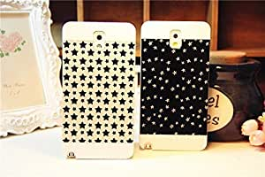 Galaxy Note2 Case, Starry Sky Back Case Cover for Samsung Galaxy Note2 N7100, 1 piece White Star