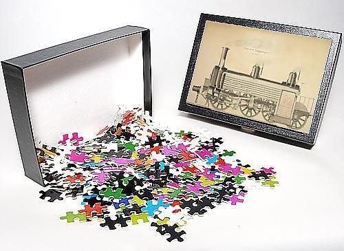 Photo Jigsaw Puzzle of Locomotive luggage engine, longitudinal section