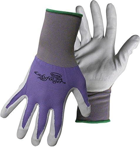 Ladyfinger Nitrile Palm Gloves For Women