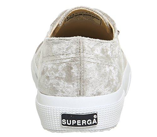 S003I10 Sneaker Exclusive Superga 2750 COTUSHIRT Unisex Erwachsene Light Velvet Grey qw7EfX