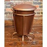 William Sheppee SLN701C Wastebasket, 13 Gal, Copper