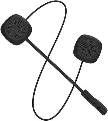 VR robot Bluetooth 5.0 Moto Helmet Headset Wireless Handsfree Stereo Earphone US