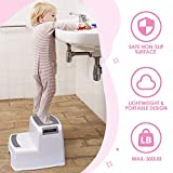 Acko (2 Pack) Dual Height Step Stool for Toddlers