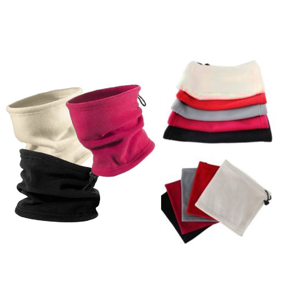 Yamalans Polar Fleece Thermal Neck Warmer Winter Sports Gaiter Face Mask Snood Hat Scarf