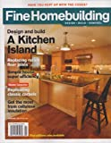 Kitchen Island Design Fine Homebuilding Magazine January 2013 (Design and Build a Kitchen Island)