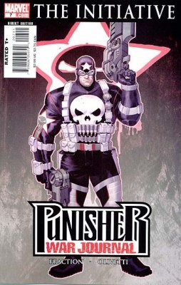 The Punisher Captain America Costume (Punisher:war Journal #7