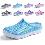 CN-Porter Womens Breathable Mesh Sandals,Garden Clog Shoes,Slippers,Beach Footwear,Anti-Slip,Water Shoes,Walking