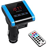 AVANTEK Wireless FM Transmitter Radio Adapter Car Kit MP3 Player, Remote Control
