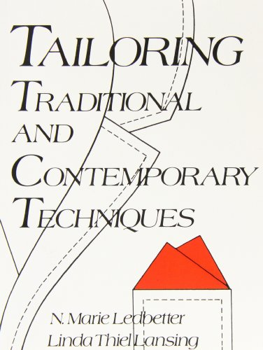 Tailoring: Traditional and Contemporary Techniques by Reston Publishing Company, Inc.
