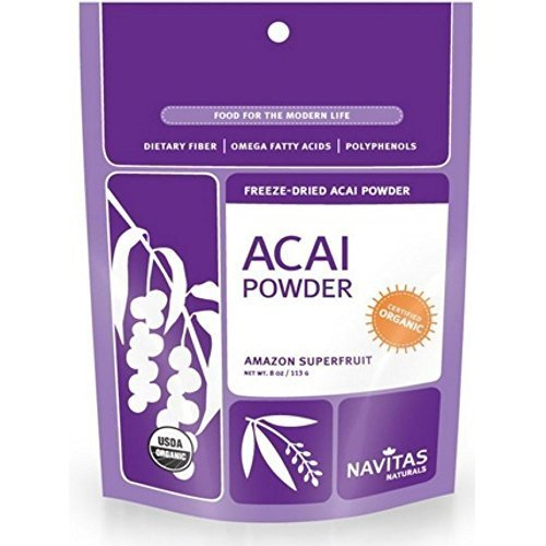 Navitas Naturals Freeze Dried Acai Powder, 8 Ounce -- 12 per case. by Navitas Naturals
