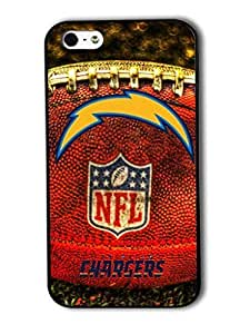 Tomhousomick Custom Design The NFL Team San Diego Chargers Case Cover For iPhone 4 4S Personality Phone Cases Covers