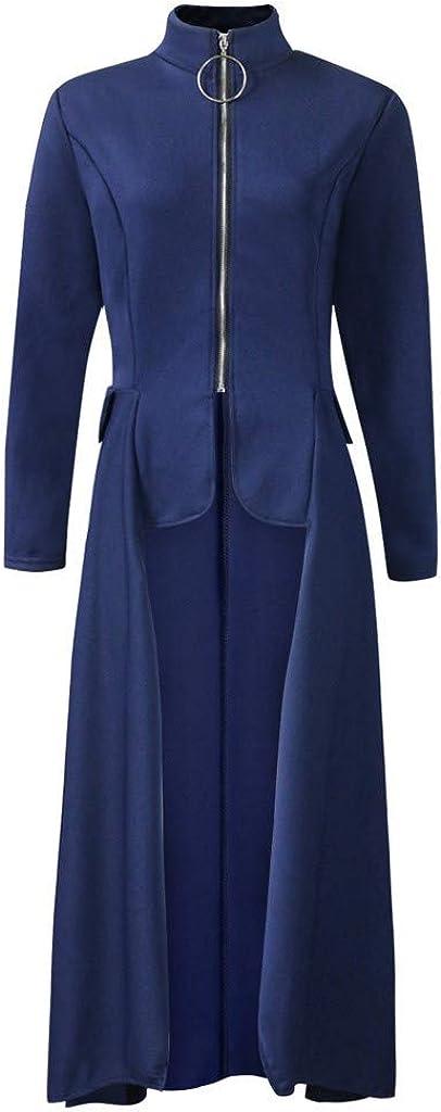 YANYUN High Low Tops for Women,Casual Dresses Fashion Ruffle Asymmetrical Tunic Blouse Irregular Shirt Party Max Dresses
