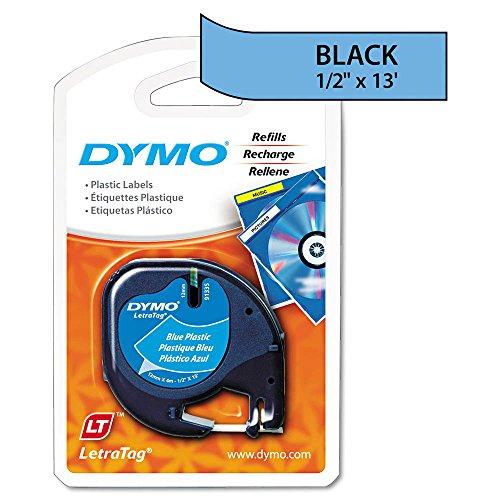 DYM91335 - Dymo LetraTag Plastic Label Tape Cassette