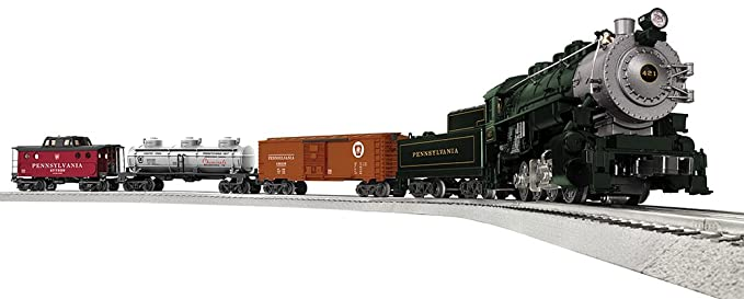 Lionel Pennsylvania Flyer Train Set - O-Gauge Toy Trains & Accessories at amazon