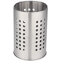 Surenhap Egouttoir à Couverts Acier Inoxydable Outils De Cuisson Porte Vaisselle Cage Baguettes À Baguettes Tube Porte-Brosse