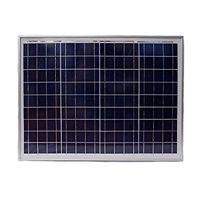 50 Watt Polycrystalline Solar Panel - Mighty Max Battery brand product