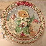 Cherished Teddies 1995 Season of Joy Plate 141550