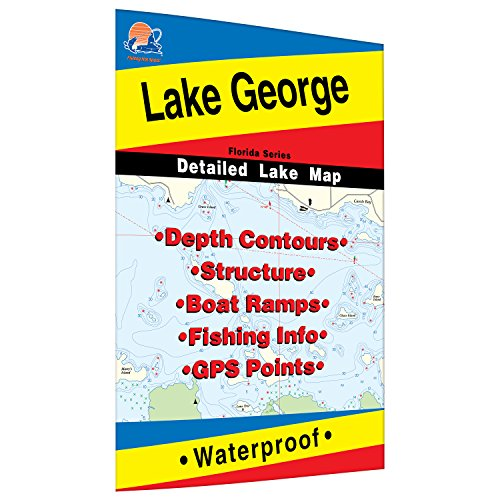 Lake George Fishing Map (Florida)