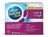 Alka-Seltzer Plus Cold and Cough Liquid Gels, 40 Count