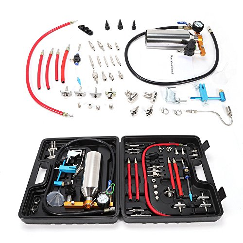 GDAE10 Auto Fuel Injector Non-Dismantle Cleaner Kit Washing Tool AUTOOL GX100 Full Kit Audi,Benz,BMW,Toyota,Volvo,Yamaha With Suitcase(US Stock) (Injection Fuel Cleaner Kit)