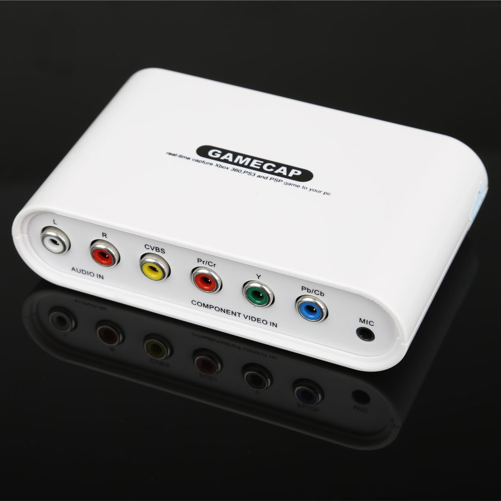 Gamecap HD Recorder Box Real-time Capture PlayStation 3//Xbox 360//PSP Video Games