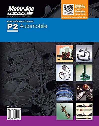 By Motor Age Staff P2 Study Guide - ASE Certification Study Guide & Practice Test (Motor Age Training) [Paperback]