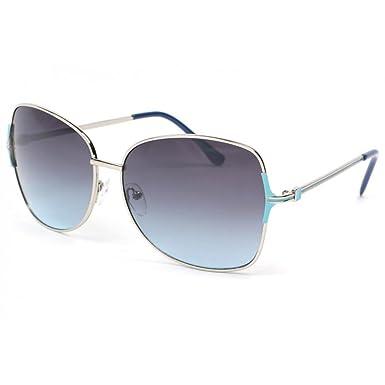 85fe06a59b2e39 Eye Wear Lunettes de soleil femme grises et bleues Babe - Femme ...