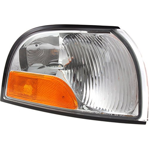 Corner Light compatible with Nissan Quest/Mercury Villager 99-02 Corner Lamp RH Lens and Housing Park/Side Maker Lamp Right Side