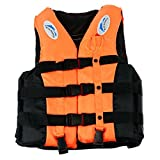 Mounchain PFD Life Vest Watersport Classic Boat Jacket with a Whistle for Unisex Adult / Children