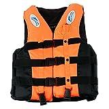 Mounchain Life Vest Jacket Water Sports for Unisex Adults Children PDF Orange L