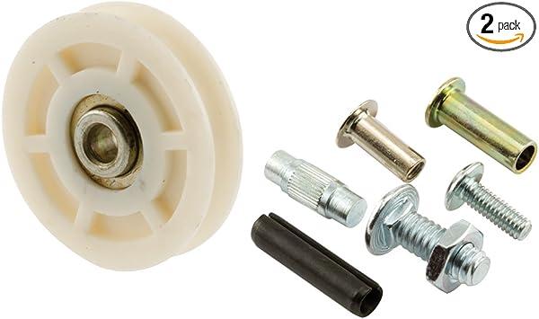 Slide Co 132339 Sliding Door Roller Set With 1 3 4 Inch Nylon Ball Bearing 2 Pack Screen Door Hardware Amazon Com