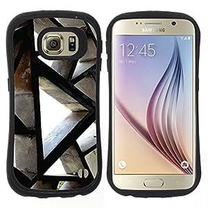 """Hypernova Slim Fit Dual Barniz Protector Caso Case Funda Para Samsung Galaxy S6 [Ingeniería de Edificación Arquitectura Polígono""""]"""