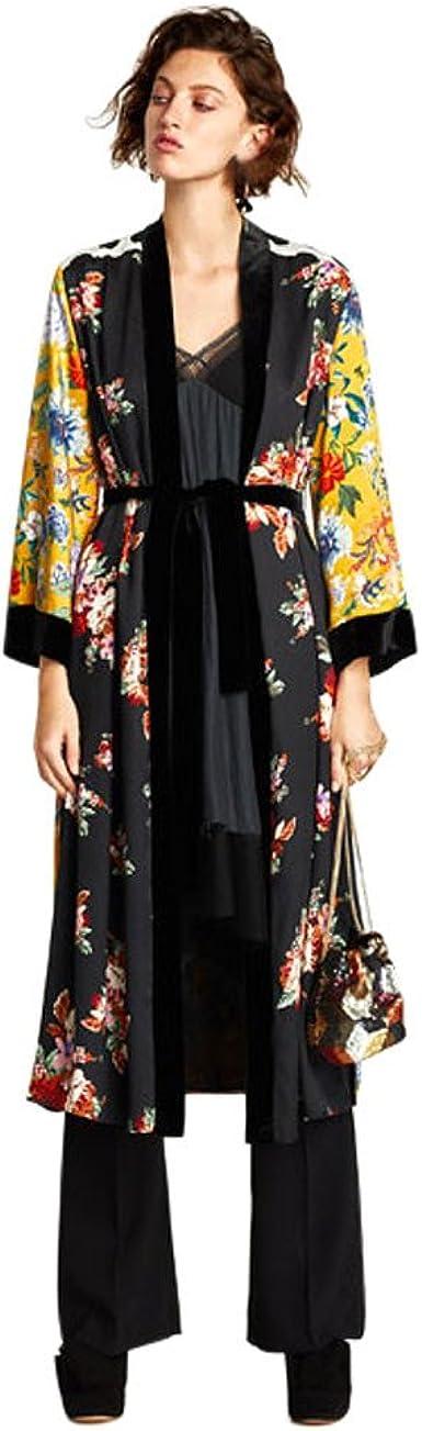 Cardigan Kimono Moda Mujer, LANSKIRT Mujeres Borla Floral de Bohemia Kimono Largo De Gran tamaño Tops de Mantón Camisa Blusa: Amazon.es: Ropa y accesorios