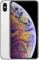 Apple iPhone XS Max (512GB, Silver) [Carrier Locked] + Carrier Subscription [Cricket Wireless]