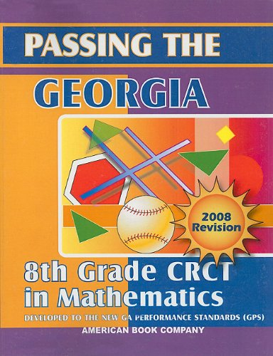 Passing the Georgia 8th Grade CRCT in Mathematics