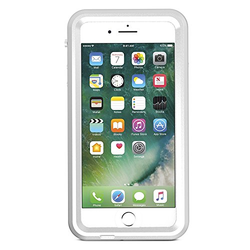 quality design ad7ae da8f5 SPARIN iPhone 7 Plus / 8 Plus Waterproof Case(5.5 inch),Metal Waterproof  Case with Heavy Duty Protection, Metal Frame, Clear Sound, IP68, Snow Dust  ...