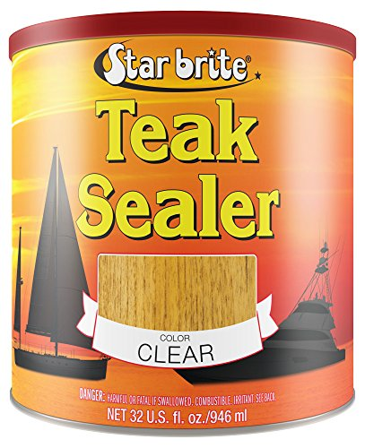 Star brite Teak Sealer - Clear - One Coat Formula (Semco Outdoor)