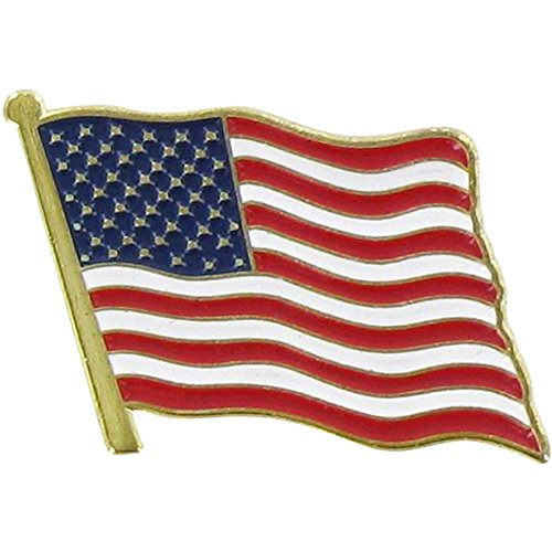 USA American Flag Lapel Pin Standard