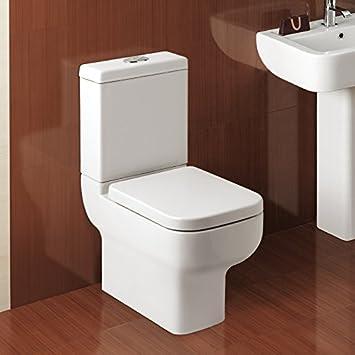 Toilette, Kompakt, Platzsparend, Wc Options 600, Zweimengensp&uuml ... Kompakte Designer Toiletten