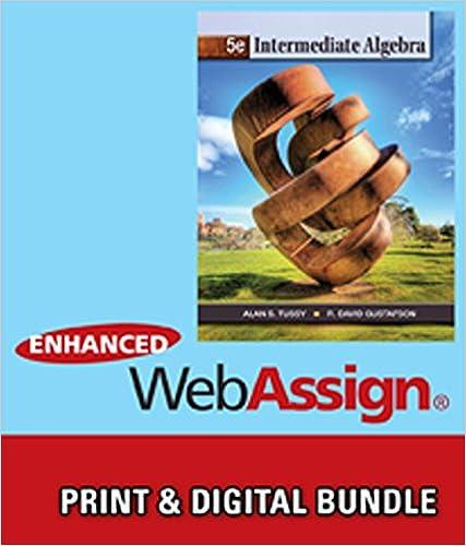 Bundle: Intermediate Algebra, 5th + WebAssign Printed Access Card