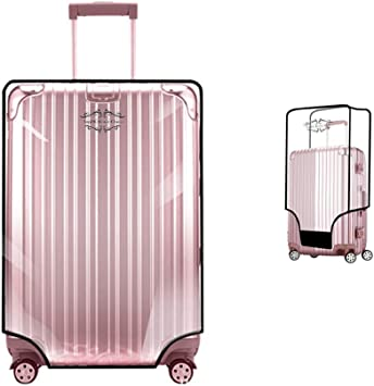 PVC Transparent Travel Luggage Protector Suitcase Cover Waterproof Dustproof