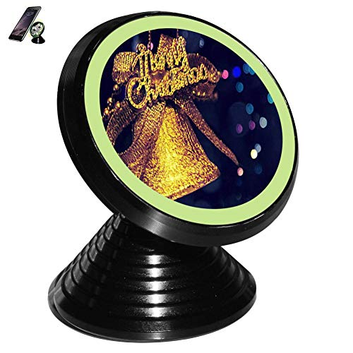 Golden Christmas Bell Magnetic Vehicle Mounted Mobile for sale  Delivered anywhere in USA