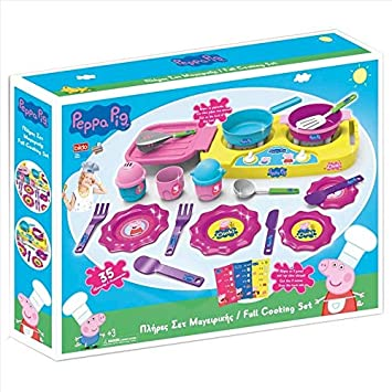 Bildo 8108 Peppa Pig Big Kitchen Set Multi Colour Amazon Co Uk