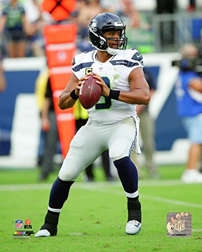 Seattle Seahawks Russell Wilson poster wall decoration photo print 24x24 inches
