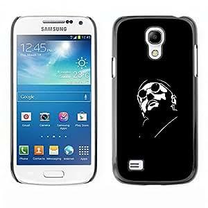 LECELL--Funda protectora / Cubierta / Piel For Samsung Galaxy S4 Mini i9190 -- Leon Profesional Killer --