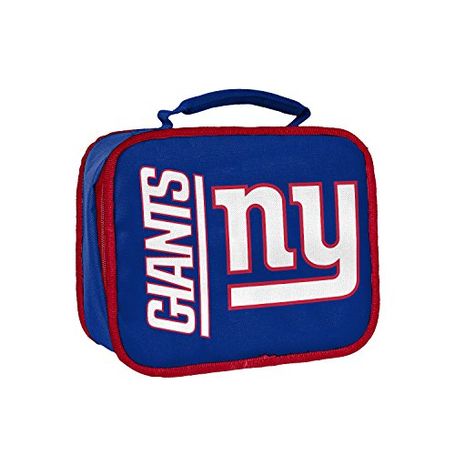 The Northwest Company Officially Licensed NFL New York Giants Sacked Lunch Kit, One - Lunch New Giants York Box